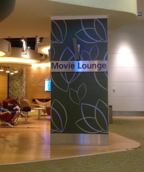 Movie lounge in KLIA2