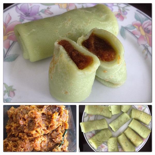 Indonesian dadar gulung