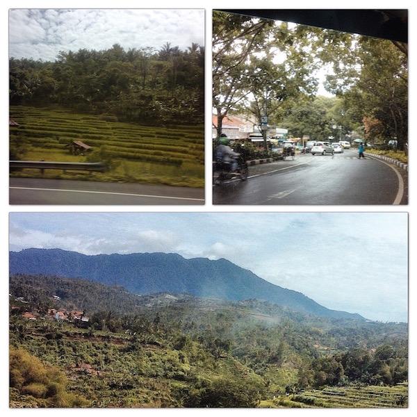 View just outside Bandung