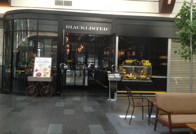 One of the restaurants at Pondok Indah Mall