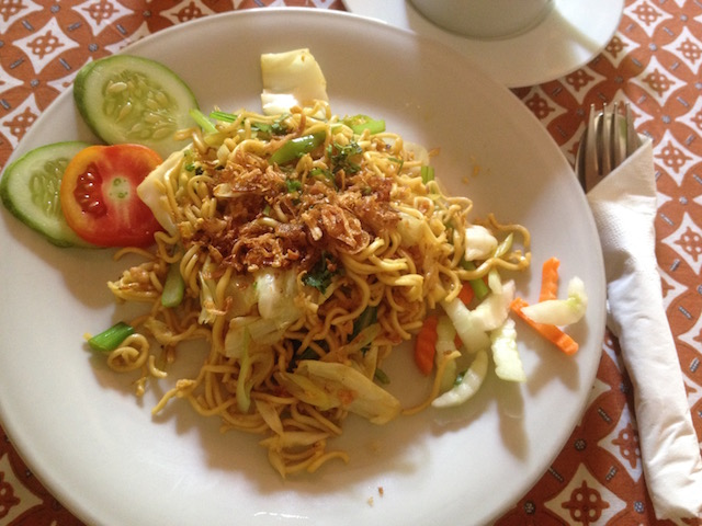 Mee goreng (fried noodles)