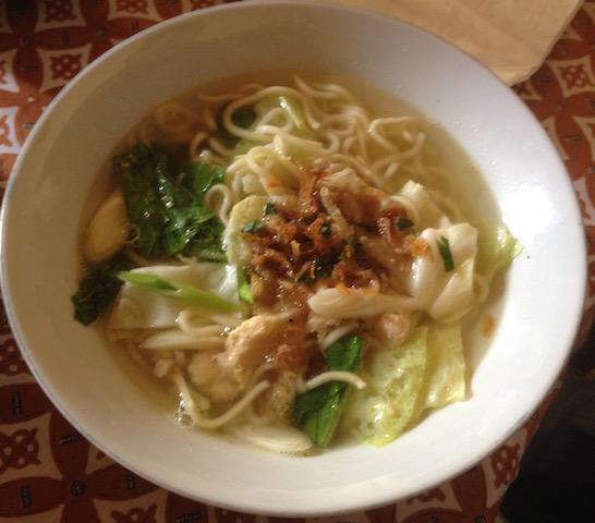 Breakfast noodles