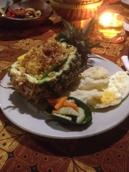 Pineapple rice