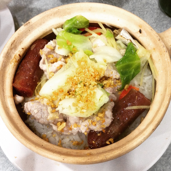 Hong Kong clay pot rice