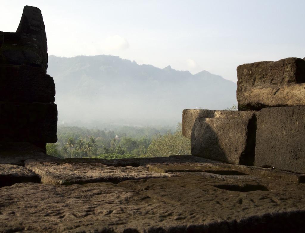 View from Borobudur
