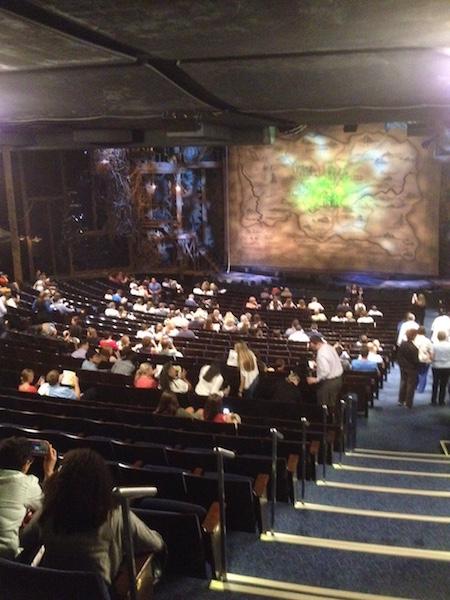 Row Z, Gershwin Theatre