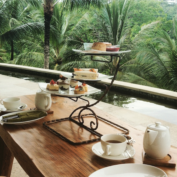 Afternoon Tea at the Four Seasons Sayan, Ubud