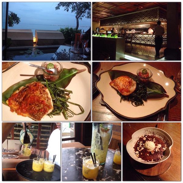 Cocktail and dinner at Sundaran Restaurant