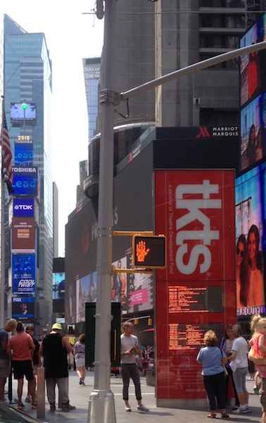 TKTS Booths in Times Square, NYC