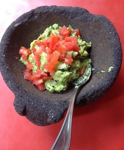 guacamole in Sombrero Mexican NYC