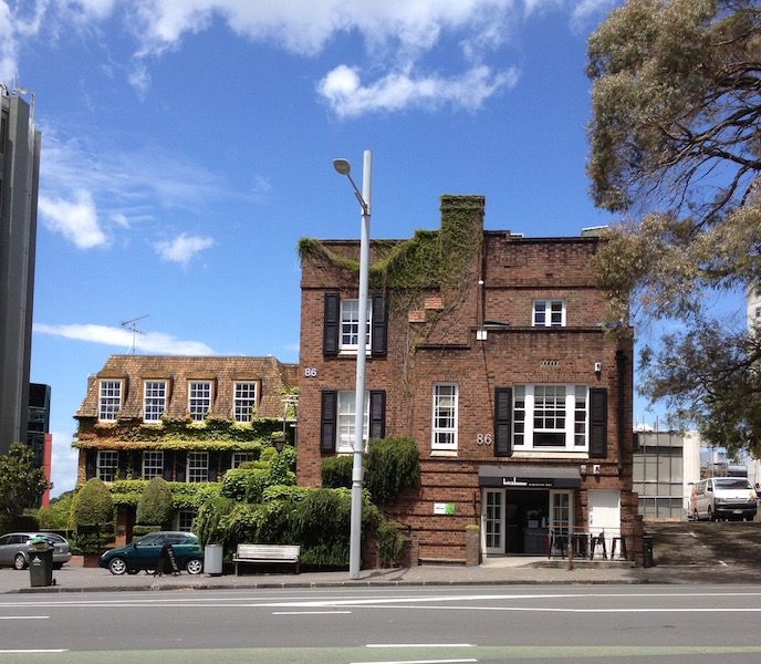 I worked in this old house on Symonds Street for over a year