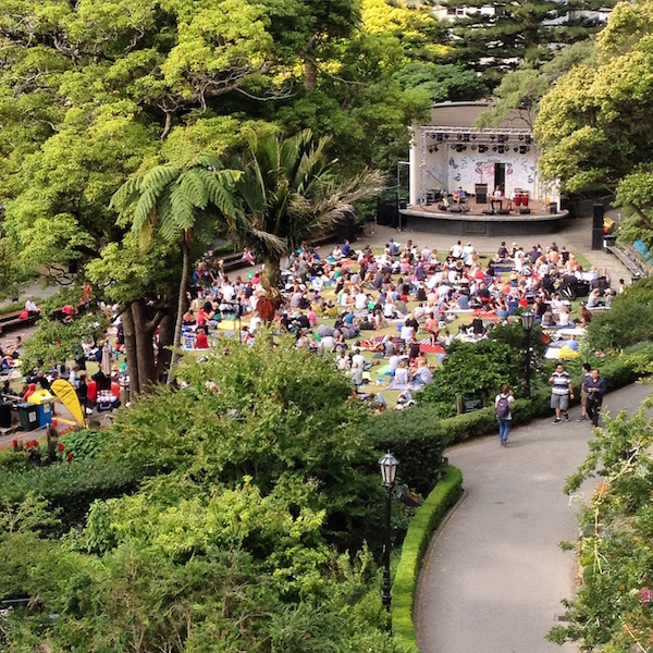 Wellington Botanic Garden Summer Concert