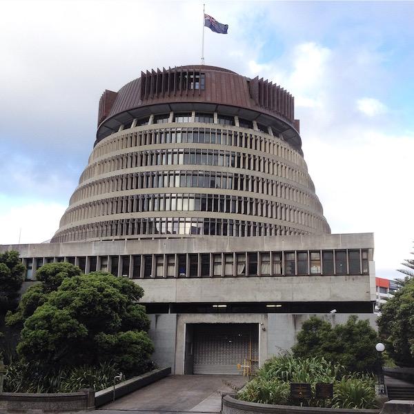 The Beehive, Wellington