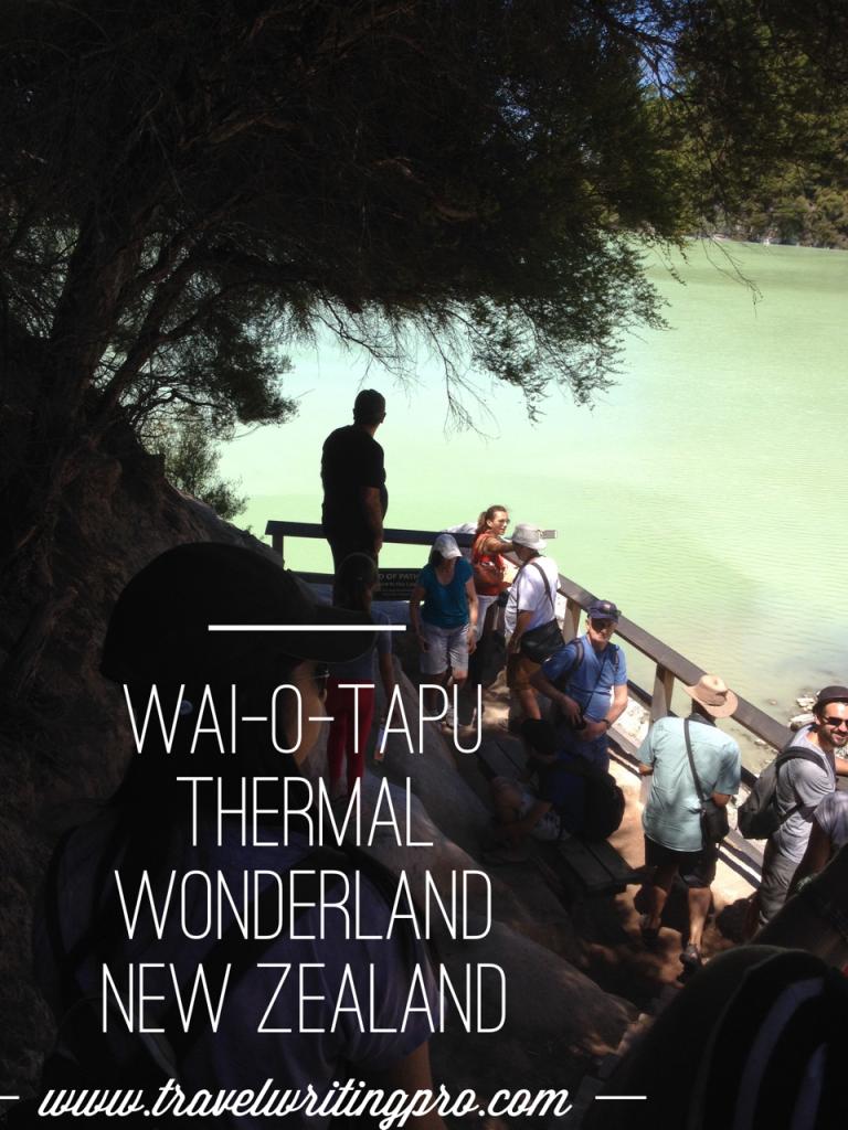 Wai-O-Tapu Thermal Wonderland of North Island New Zealand