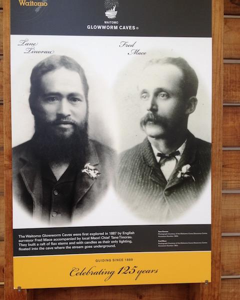 The Waitomo Caves explorers