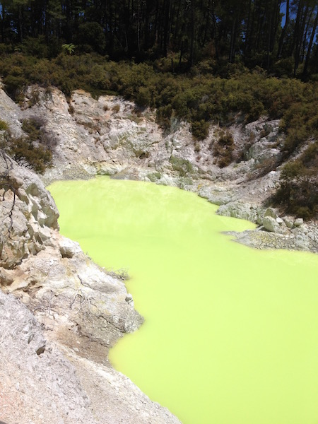 Devil's Bath Waiotapu, NZ