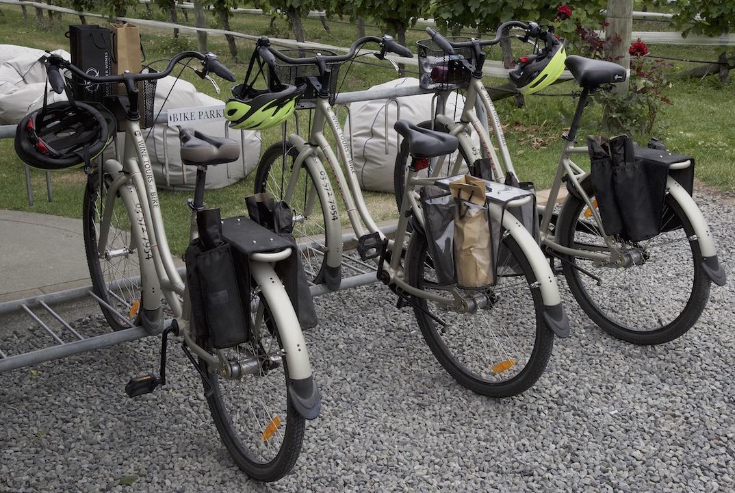 Bike around the wineries in Marlborough Sounds