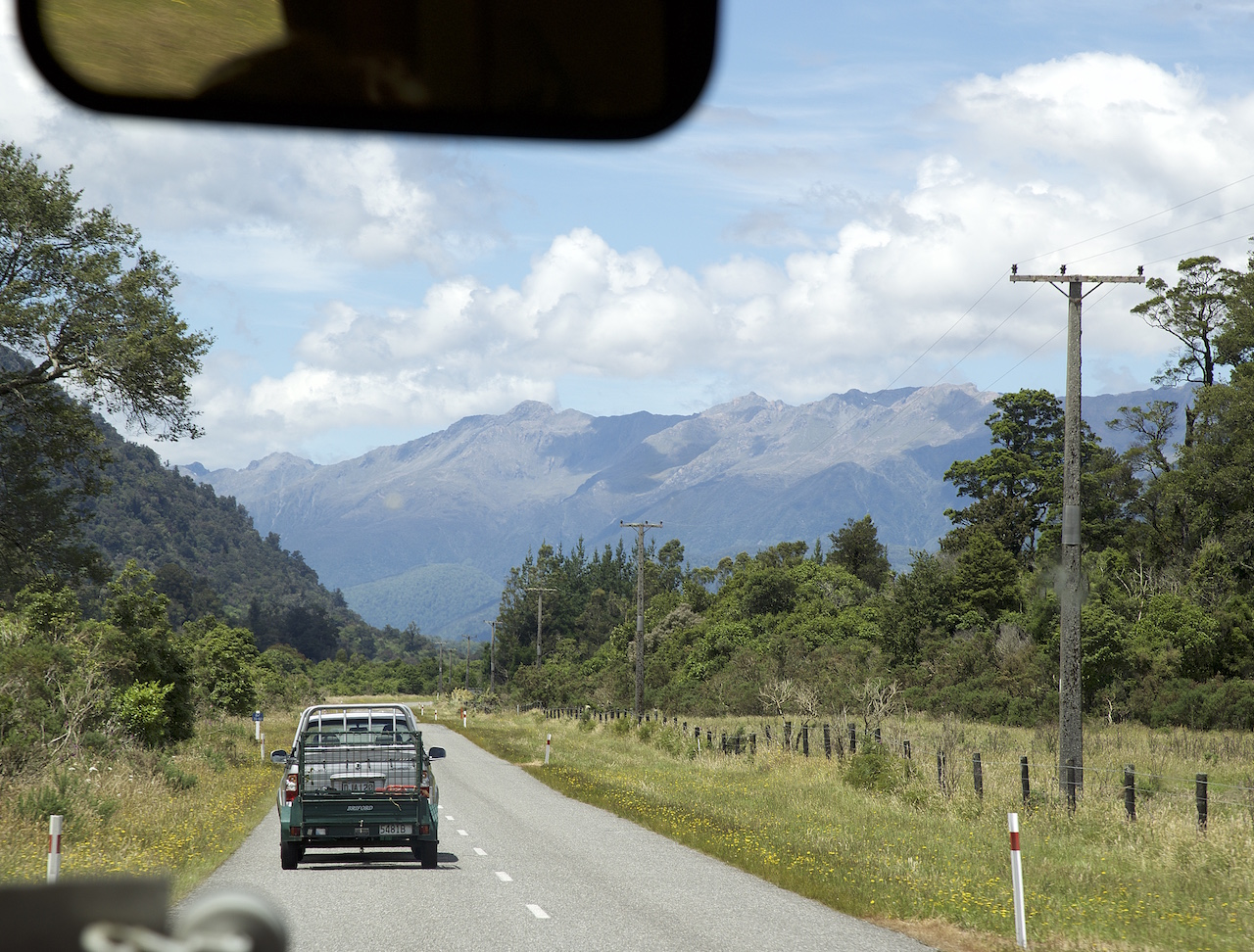 Road trip in South Island New Zealand
