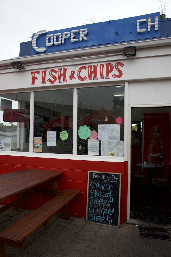Kaikoura fish and chips