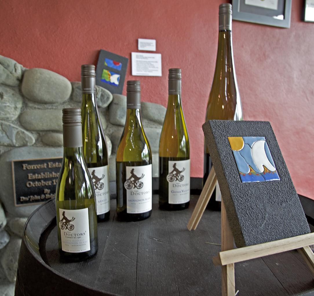 Wine tasting in Marlborough Sounds