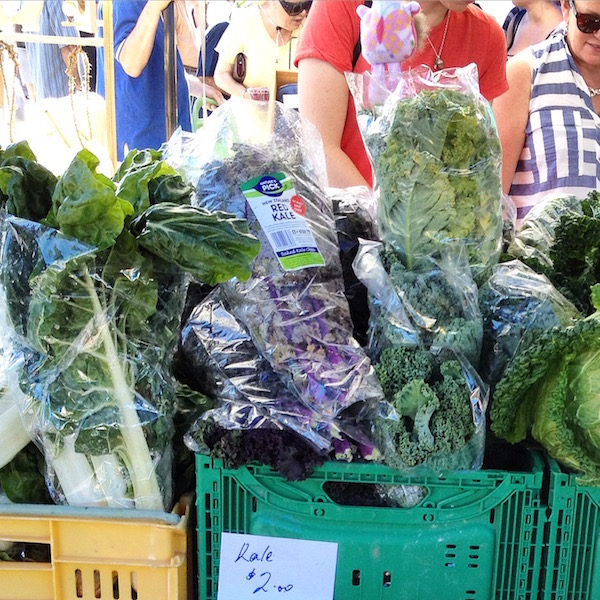 Fresh produce in Farmers Market Nelson