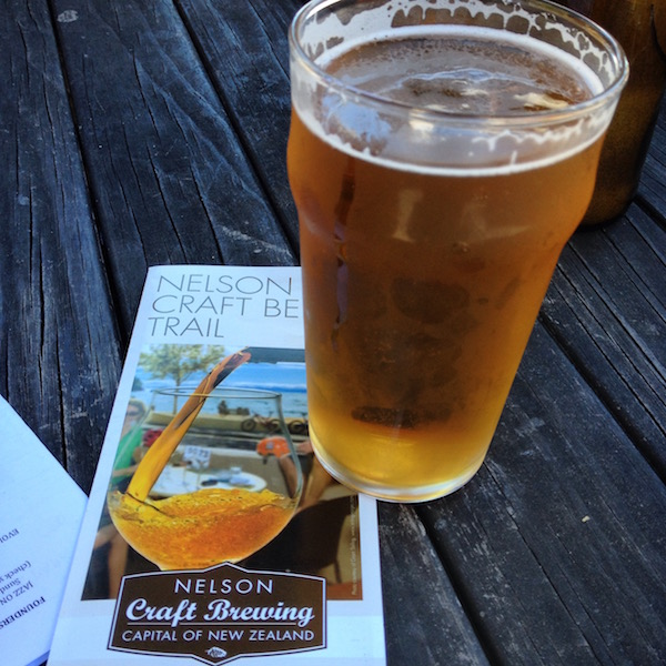 Refreshing craft beer in Nelson