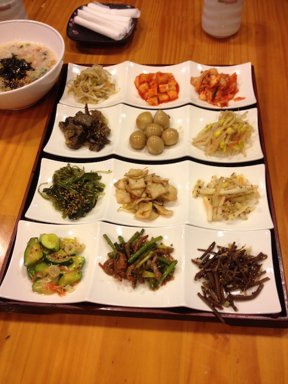Banchan (Korean side dishes)