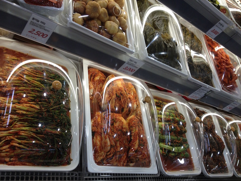 Korean pickles