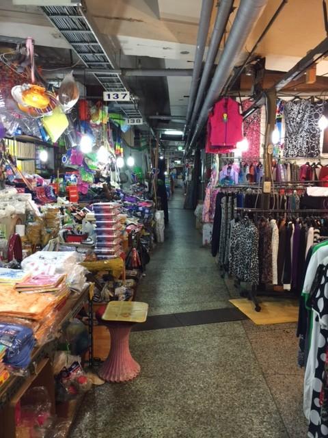 underground market in Seoul