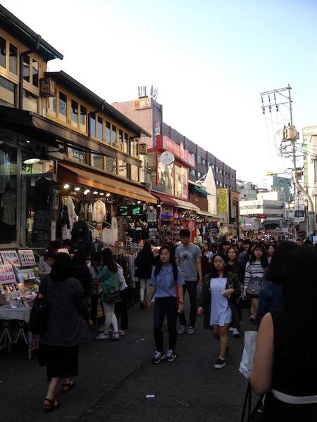 Hongdae and Insa-dong