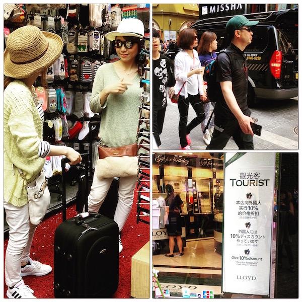 Tourists from mainland China