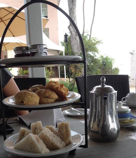 Afternoon tea in Barbados