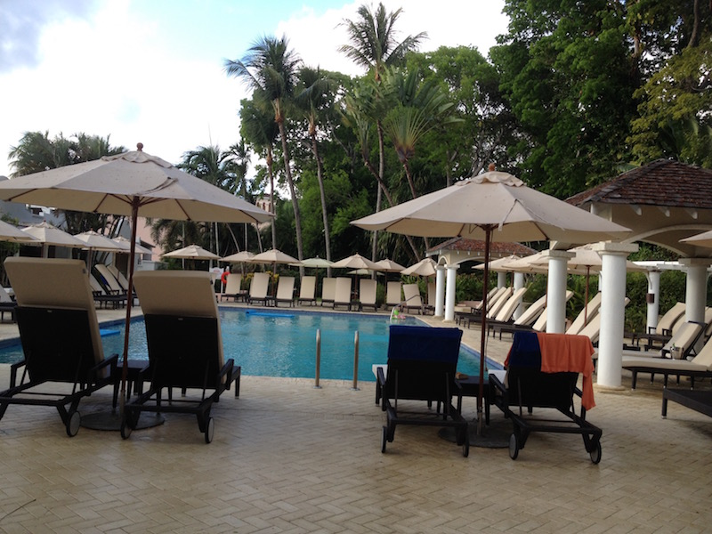 the pool at Fairmont Royal Pavilion Barbados