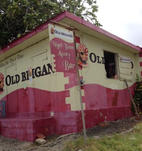 Rum shack in Barbados