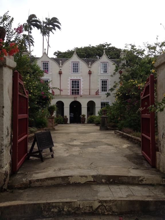 Entrance to St. Nicholas Abbey