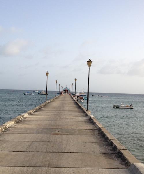 The Pier in Oistins