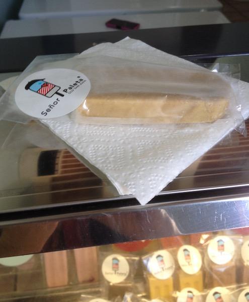 Senor Paleta ice cream store