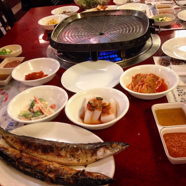Korean barbecue in Flushing NYC