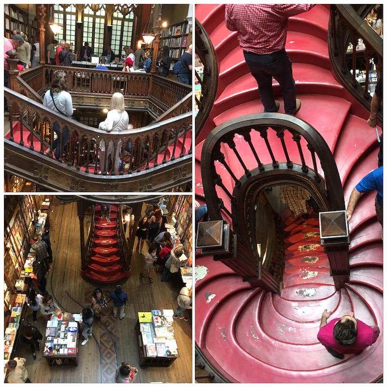 Livraria Lello Porto bookstore