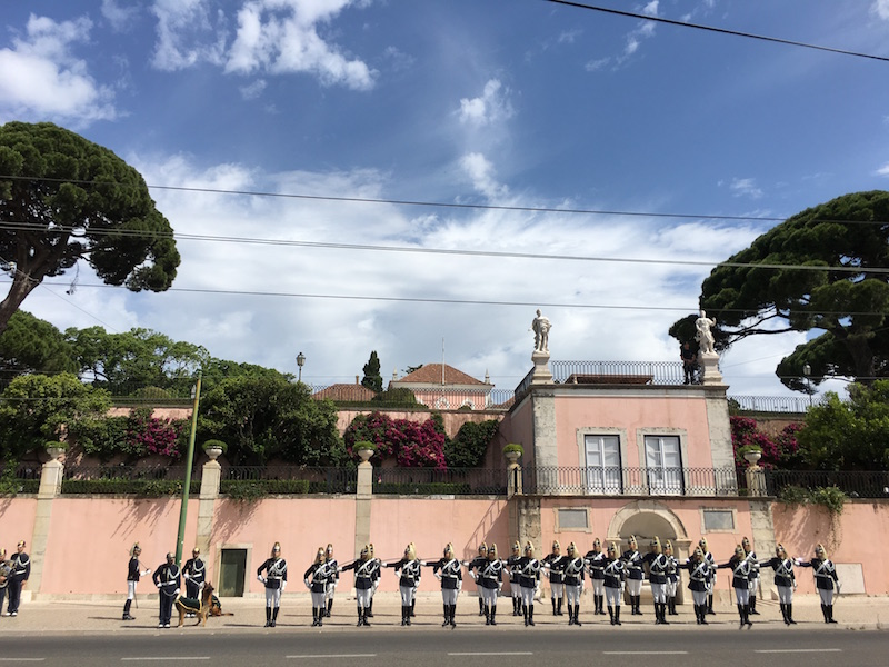 Changing of the guards in Lisbon