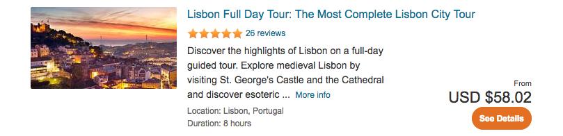 Lisbon full day tour
